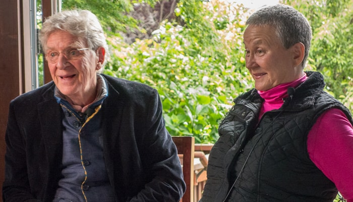 Robert Thurman and Isa Gucciardi