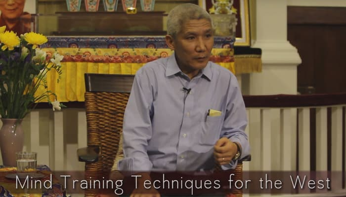 Mind Training Techniques for the West with Thupten Jinpa, Ph.D.