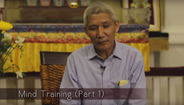 Mind Training with Thupten Jinpa, Ph.D. (Part 1)