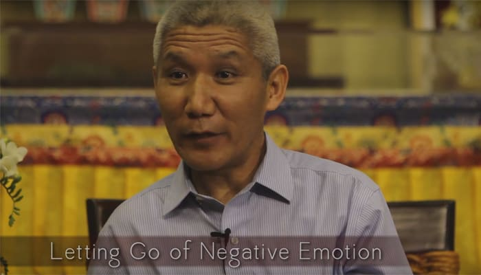 Letting Go of Negative Emotion with Thupten Jinpa, Ph.D.