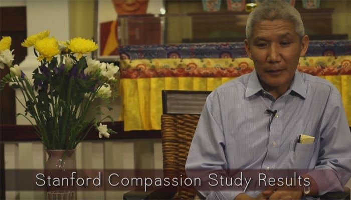 Stanford Compassion Study Results with Thupten Jinpa, Ph.D.