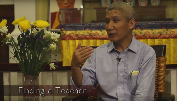Finding a Teacher with Thupten Jinpa Ph.D.