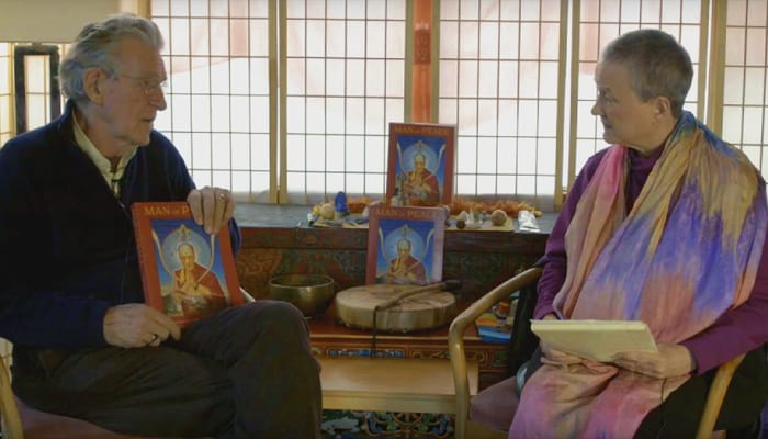 Robert Thurman Discusses Man of Peace with Isa Gucciardi