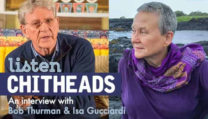 Bob Thurman & Isa Gucciardi on Peace & the Dalai Lama