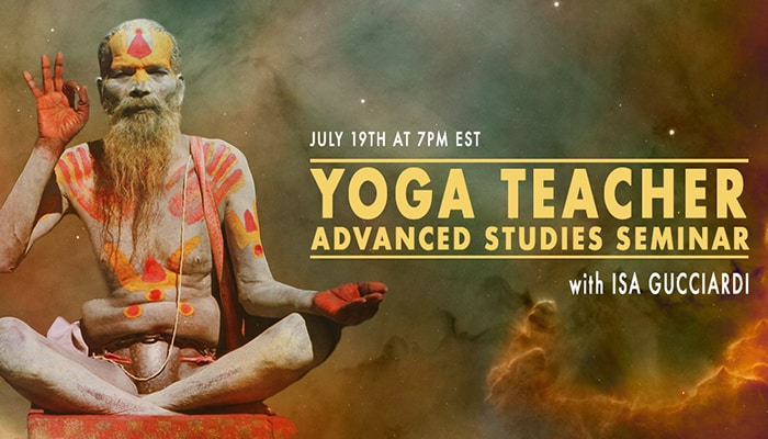 Yoga Teacher Advanced Studies Seminar